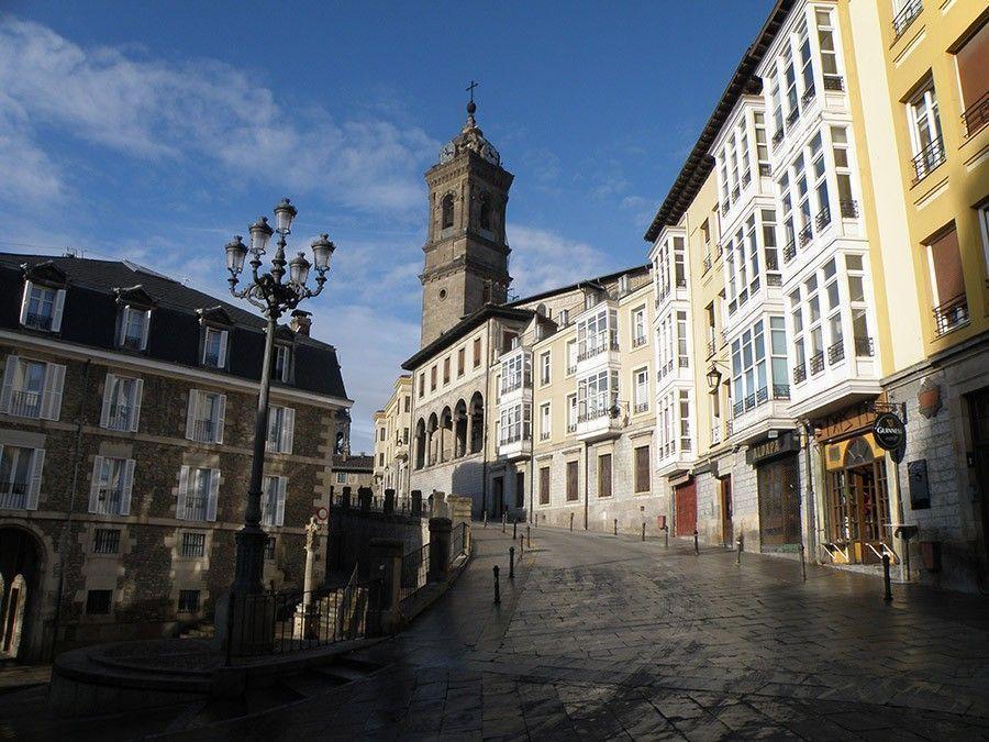 """Vídeo de la conferencia de Hugo García: """"La almendra medieval de Vitoria-Gasteiz y su patrimonio"""""""