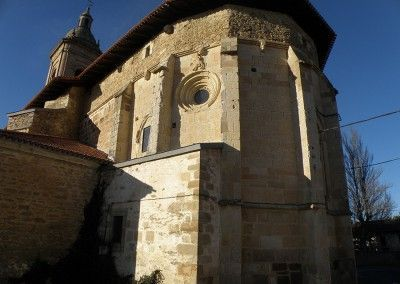 Iglesia de San Julián y Santa Basilisa de Oreitia