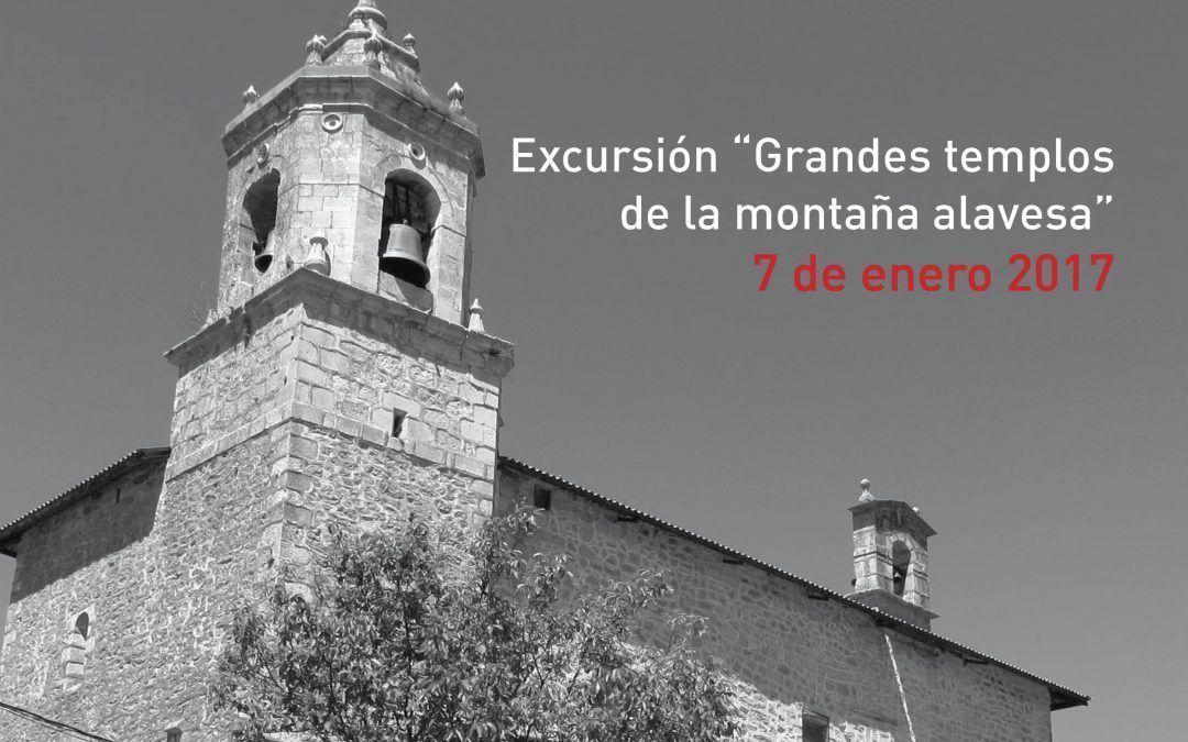 """Excursión """"Grandes templos de la Montaña Alavesa"""" – 7 de enero de 2017"""