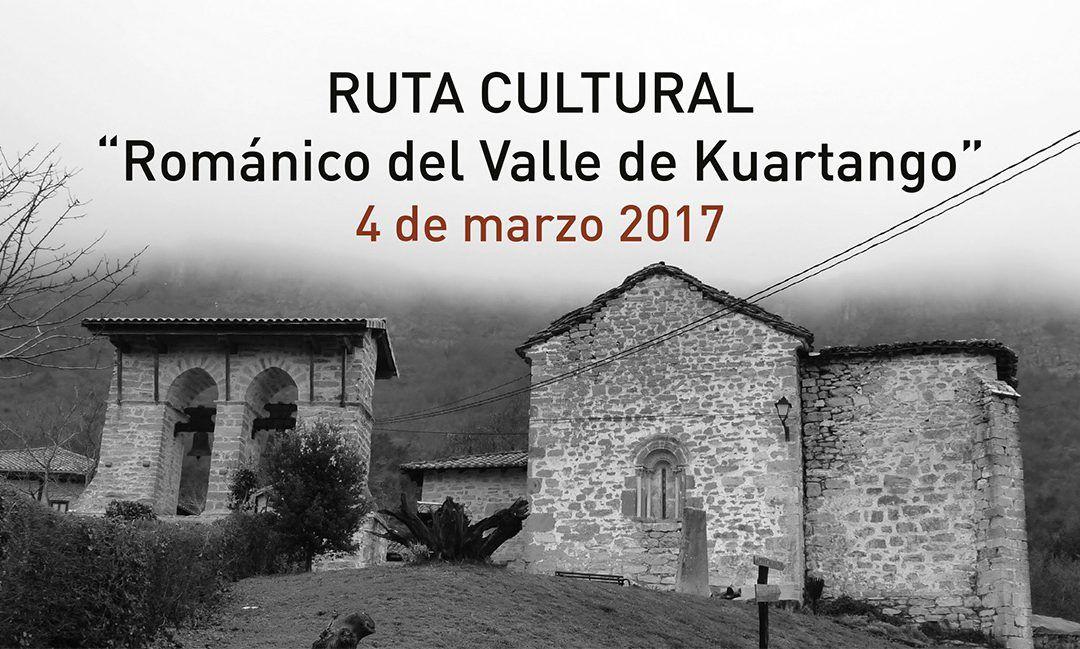 "Ruta cultural ""Románico del Valle de Kuartango"" – 4 de marzo 2017"