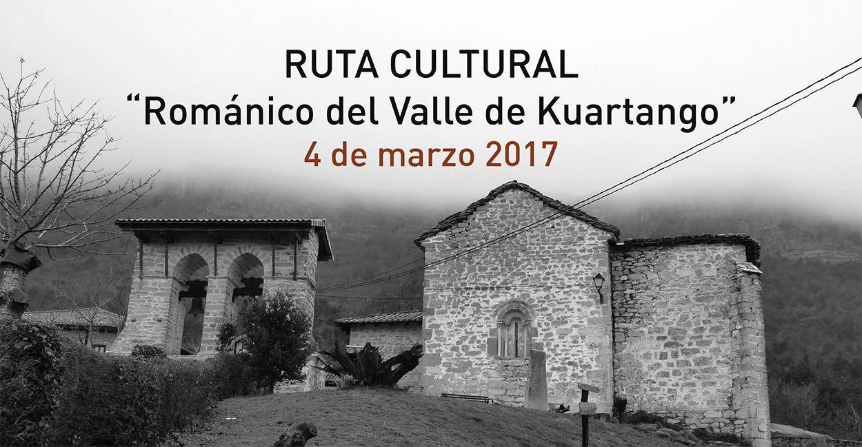 Ruta cultural «Románico del Valle de Kuartango» – 4 de marzo 2017