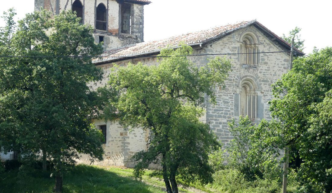 Pinceladuras en la Iglesia de San Juan Bautista de Oiardo