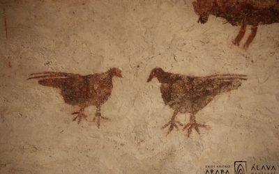 Vídeo de la conferencia «Imágenes olvidadas. La decoración con pintura roja en las iglesias románicas de Álava» (Isabel Mellén)
