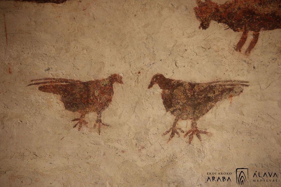 Nuevo artículo: «Románico en blanco y rojo Introducción a la pintura mural en Álava (siglos XII y XIII)»