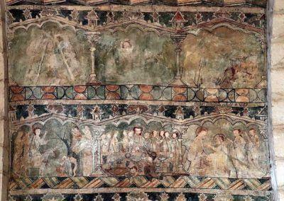 Bóveda del presbiterio