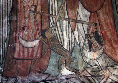 Detalle del pesaje de San Miguel