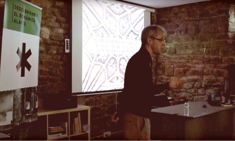 """Vídeo de la conferencia de Pedro Echevarría Goñi – """"El arte de pintar iglesias en Álava en el siglo XVI y la moda de la petrofilia"""""""