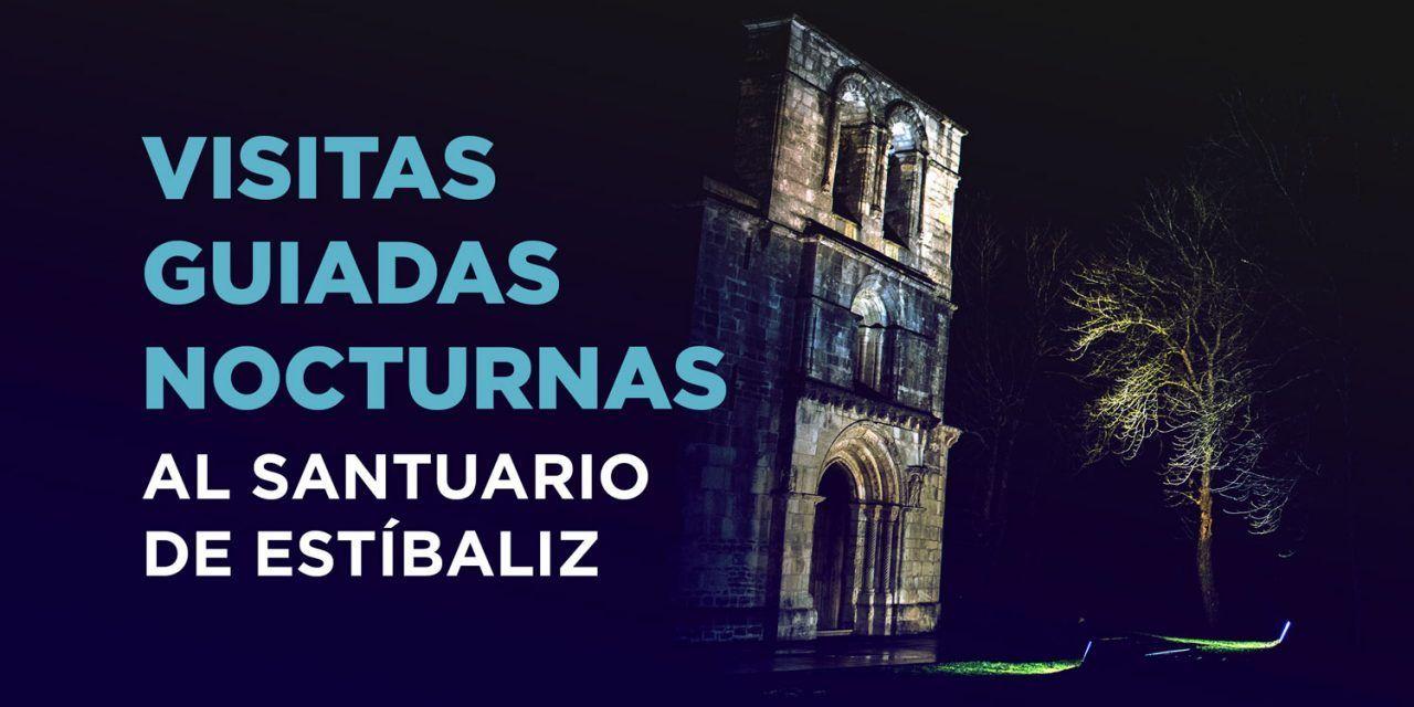 VISITAS GUIADAS NOCTURNAS al santuario de Estíbaliz ¡también en agosto!