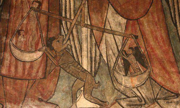 """Conferencia de Yésica Ruiz Gallegos: """"La aparición del juicio del alma en el arte del nordeste de la Corona de Castilla a finales de la Edad Media"""""""