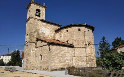 The church of Saint Romanus, Ezkerekotxa
