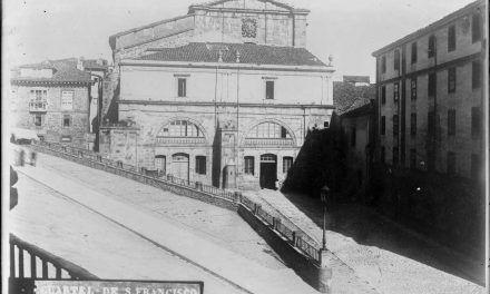 Los pórticos del convento de San Francisco de Vitoria-Gasteiz