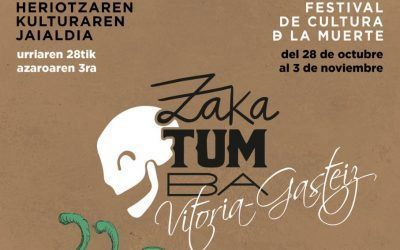 Inauguración de la exposición «Vitoria-Gasteiz. Ciudad de la muerte» e inicio del Festival Zakatumba