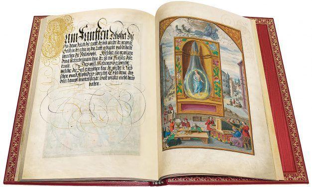 """""""Los mejores manuscritos iluminados de la Edad Media y del Renacimiento"""". Muestra comentada de facsímiles por Andrés Krakenberger."""