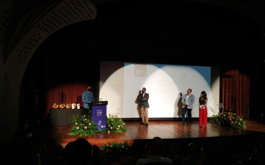 El equipo de Álava Medieval/Erdi Aroko Araba galardonado en los premios COPE 2021